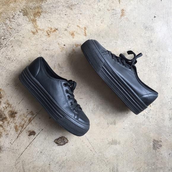Topshop Shoes | Topshop Black Platform